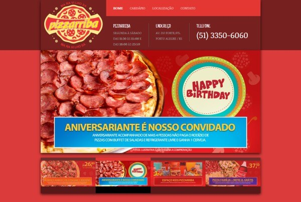Pizzaria Pizzarriba – Porto Alegre / RS