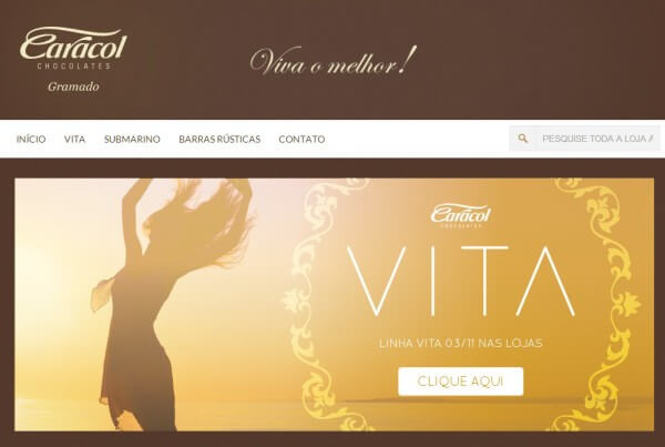 Caracol Chocolates – Loja Virtual